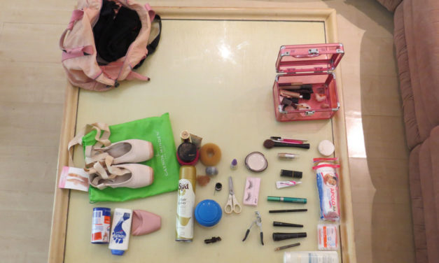 O que levar na bolsa de ballet no dia da apresentação