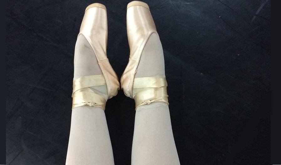 Cuidados com os pés de bailarina