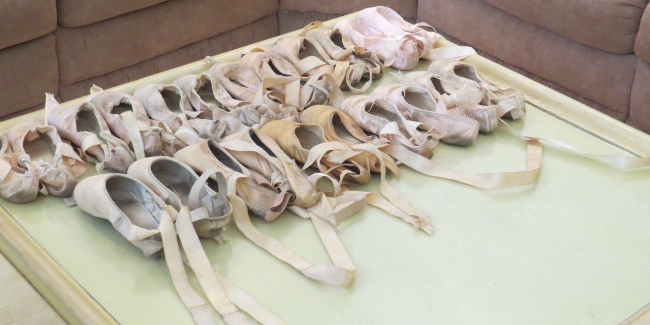 Minhas experiências com as sapatilhas de ponta