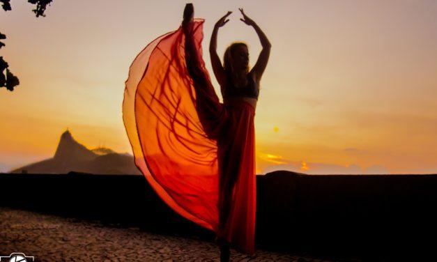 Vlog de Ensaio Fotográfico de Ballet na Urca