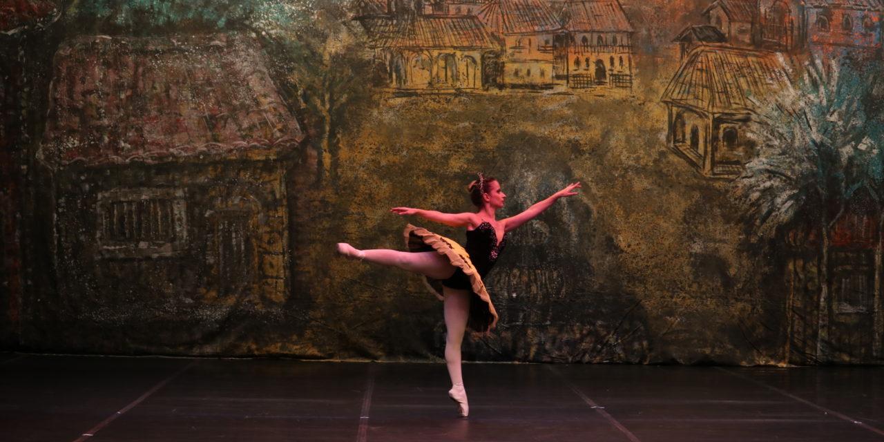 Reagindo ao meu solo do ballet Paquita