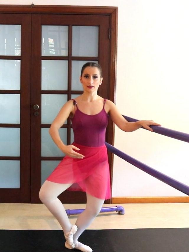 Como fazer fondu no ballet