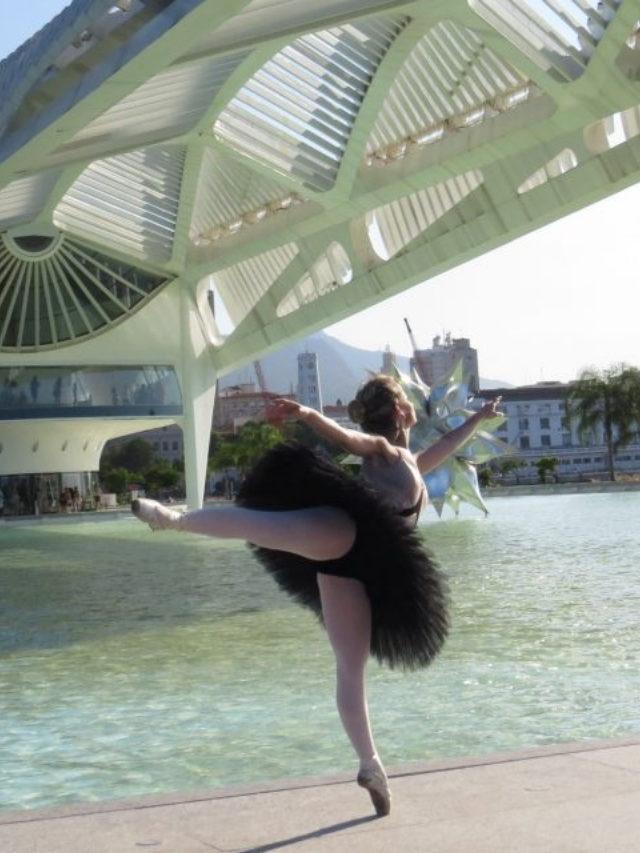 Os arabesques nos métodos de ballet