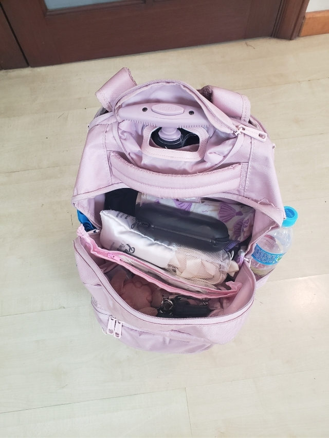 O que tem na minha bolsa do ballet?