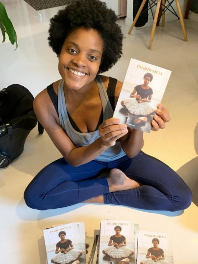 Ingrid Silva lança livro autobiográfico